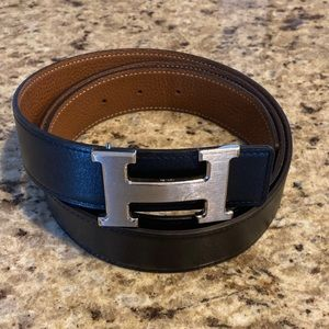 👑 Hermès Constance Reversible Belt 32mm 105cm👑